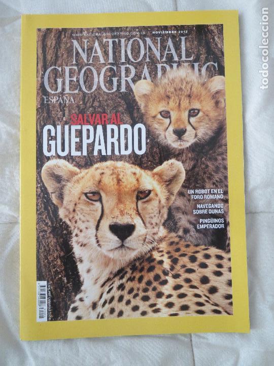 REVISTA NATIONAL GEOGRAPHIC ESPAÑA NOVIEMBRE 2012 SALVAR AL GUEPARDO (Coleccionismo - Revistas y Periódicos Modernos (a partir de 1.940) - Revista National Geographic)