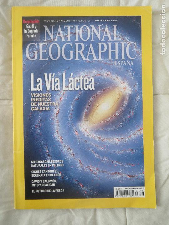 REVISTA NATIONAL GEOGRAPHIC ESPAÑA DICIEMBRE 2010 LA VIA LACTEA (Coleccionismo - Revistas y Periódicos Modernos (a partir de 1.940) - Revista National Geographic)