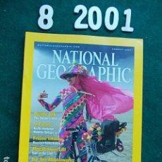 Coleccionismo de National Geographic: NATIONAL GEOGRAPHIC AGOSTO 2001 01 EN INGLÉS. Lote 108989391
