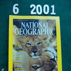 Coleccionismo de National Geographic: NATIONAL GEOGRAPHIC JUNIO 2001 01 EN INGLÉS. Lote 108989415