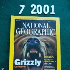 Coleccionismo de National Geographic: NATIONAL GEOGRAPHIC JULIO 2001 01 EN INGLÉS. Lote 108989463