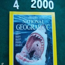 Coleccionismo de National Geographic: NATIONAL GEOGRAPHIC ABRIL 2000 00 EN INGLÉS. Lote 108989551