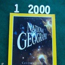 Coleccionismo de National Geographic: NATIONAL GEOGRAPHI ENERO 2000 00 EN INGLÉS. Lote 108989647