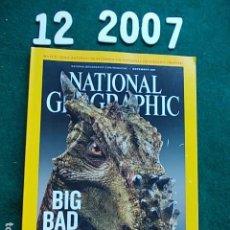 Coleccionismo de National Geographic: NATIONAL GEOGRAPHI DICIEMBRE 2007 07 EN INGLÉS. Lote 108989775
