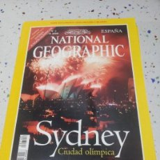 Coleccionismo de National Geographic: NATIONAL GEOGRAPHIC SYDNEY AGOSTO 2000. Lote 109594247