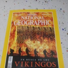 Coleccionismo de National Geographic: NATIONAL GEOGRAPHIC VIKINGOS MAYO 2000. Lote 109595779