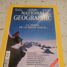 Coleccionismo de National Geographic: NATIONAL GEOGRAPHIC LA TIERRA DE LA REINA MAUD FEBRERO 1998. Lote 109598335