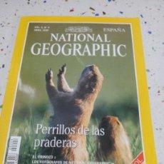 Coleccionismo de National Geographic: NATIONAL GEOGRAPHIC PERILLOS DE LAS PRADERAS ABRIL 1998. Lote 109599303