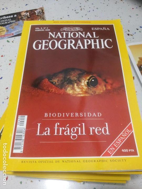 NATIONAL GEOGRAPHIC LA FRAGIL RED FEBRERO 1999 (Coleccionismo - Revistas y Periódicos Modernos (a partir de 1.940) - Revista National Geographic)