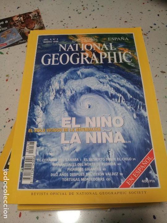 NATIONAL GEOGRAPHIC EL NIÑO LA NIÑA MARZO 1999 (Coleccionismo - Revistas y Periódicos Modernos (a partir de 1.940) - Revista National Geographic)