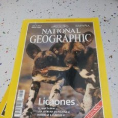Coleccionismo de National Geographic: NATIONAL GEOGRAPHIC LICAONES MAYO1999. Lote 109608231