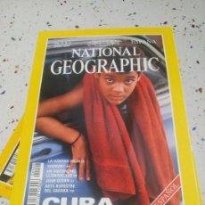 Coleccionismo de National Geographic: NATIONAL GEOGRAPHIC CUBA JUNIO1999. Lote 109608443