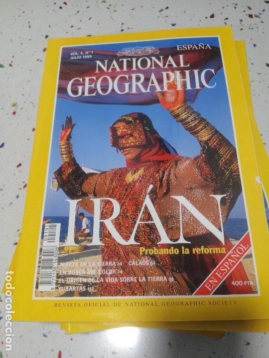 NATIONAL GEOGRAPHIC IRAN JULIO 1999 (Coleccionismo - Revistas y Periódicos Modernos (a partir de 1.940) - Revista National Geographic)
