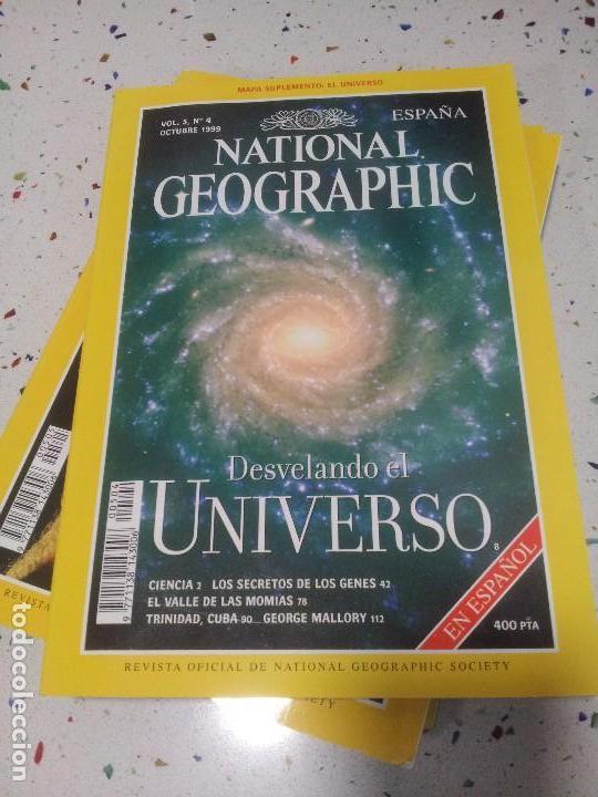 NATIONAL GEOGRAPHIC LA VUELTA AL MUNDO OCTUBRE1999 (Coleccionismo - Revistas y Periódicos Modernos (a partir de 1.940) - Revista National Geographic)