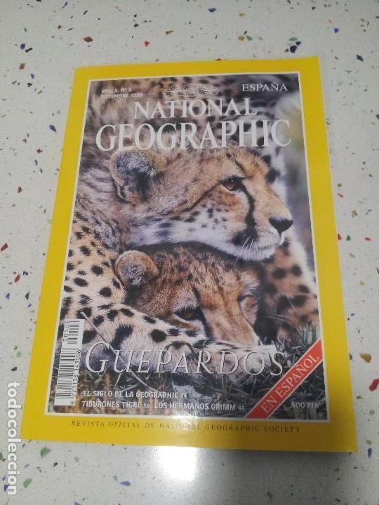 NATIONAL GEOGRAPHIC GUEPARDOS DICIEMBRE 1999 (Coleccionismo - Revistas y Periódicos Modernos (a partir de 1.940) - Revista National Geographic)