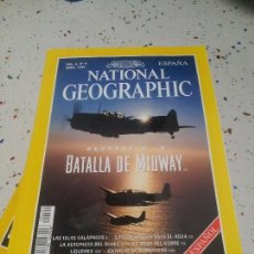 Coleccionismo de National Geographic: NATIONAL GEOGRAPHIC BATALLA DE MIDWAY ABRIL 1999. Lote 110013915