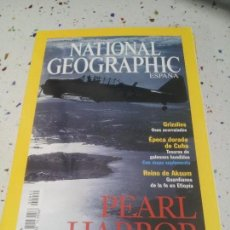 Coleccionismo de National Geographic: NATIONAL GEOGRAPHIC PEARL HARBOR JULIO 2001. Lote 110014015