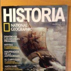 Coleccionismo de National Geographic: REVISTA HISTORIA NATIONAL GEOGRAPHIC Nº 169 (VIKINGOS. DIOSES Y MITOS DE LOS GUERREROS NORDICOS). Lote 110725443