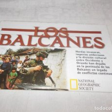 Coleccionismo de National Geographic: MAPA ANEXO NATIONAL GEOGRAPHIC FEBRERO 2000. Lote 111599407