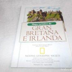 Coleccionismo de National Geographic: MAPA ANEXO NATIONAL GEOGRAPHIC AGOSTO 2000. Lote 111600511