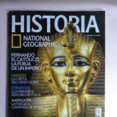 Collectionnisme de National Geographic: REVISTA: HISTORIA - NATIONAL GEOGRAPHIC - Nº 73 - LOS LADRONES DE TUMBAS DE EGIPTO - TRES MIL AÑOS... Lote 200245077