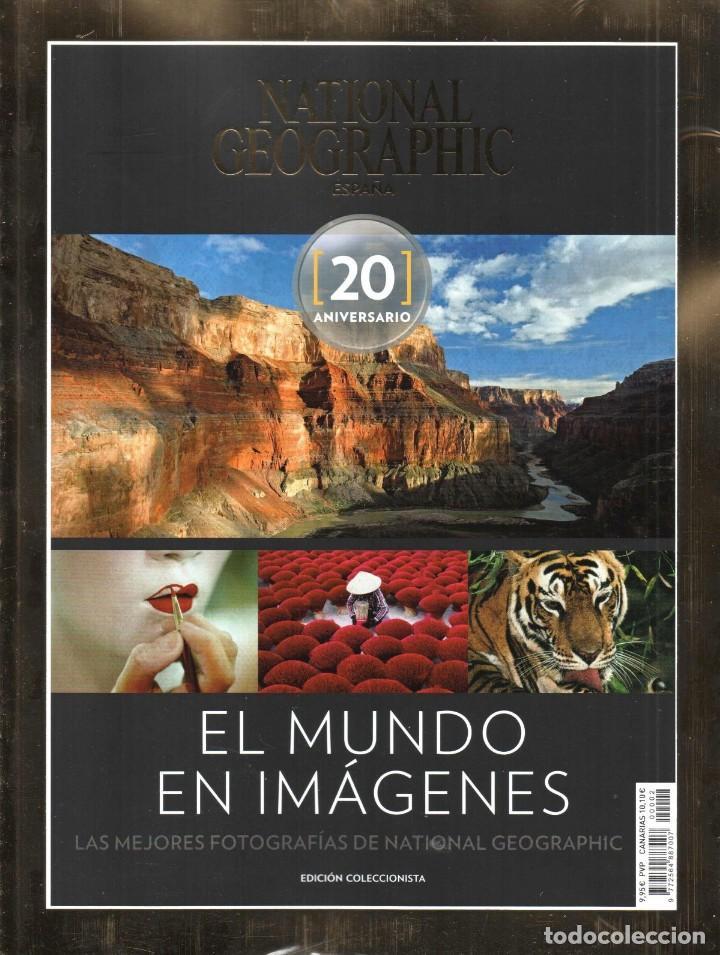 NATIONAL GEOGRAPHIC ESPECIAL 20 ANIVERSARIO N. 2 - EL MUNDO EN IMAGENES (PRECINTADA) (Coleccionismo - Revistas y Periódicos Modernos (a partir de 1.940) - Revista National Geographic)