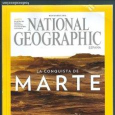 Coleccionismo de National Geographic: NATIONAL GEOGRAPHIC NOVIEMBRE 2016 PORTADA: MARTE. Lote 113107499