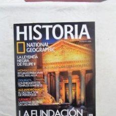 Sammeln von National Geographic - HISTORIA NATIONAL GEOGRAPHIC Nº 92 LA FUNDACION DE ROMA - 114027747