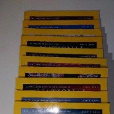Coleccionismo de National Geographic: 12 NÚMEROS DE LA REVISTA NATIONAL GEOGRAPHIC DE JUNIO DE 2002 A NOVIEMBRE DE 2004. Lote 115444111