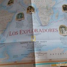 Coleccionismo de National Geographic: NATIONAL GEOGRAPHIC MAPA ANEXO FEBRERO 1998. Lote 115568575