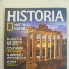 Coleccionismo de National Geographic: REVISTA DE HISTORIA DE NATIONAL GEOGRAFIC : JUANA DE ARCO, ROMANOS, ESCITAS, STONEHENGE, ETC. Lote 115754395