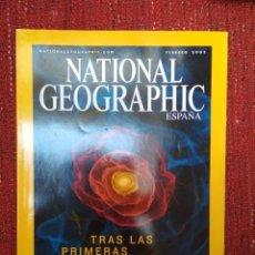 Coleccionismo de National Geographic: NATIONAL GEOGRAPHIC ESPAÑA - VOL 12 NÚM 2 FEBRERO 2003 - TRAS LAS PRIMERAS GALAXIAS. Lote 116588987