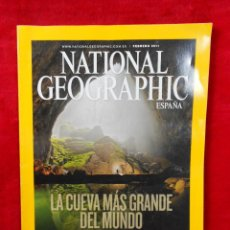 Coleccionismo de National Geographic: REVISTA NATIONAL GEOGRAPHIC FEBRERO 2011. Lote 117518707
