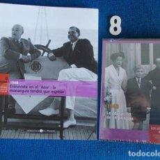 Coleccionismo de National Geographic: FRANQUISMO BIBLIOTECA EL MUNDO CON DVD Nº 8 1948. Lote 119164399