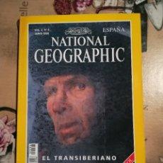 Coleccionismo de National Geographic: NATIONAL GEOGRAPHIC VOL. 2 Nº 6 - EL TRANSIBERIANO - JUNIO 1998. Lote 121602303