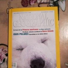 Coleccionismo de National Geographic: NATIONAL GEOGRAPHIC VOL. 7 Nº 6 - OSOS POLARES. APRENDIZAJE EN LOS HIELOS ÁRTICOS - DICIEMBRE 2000. Lote 121602551