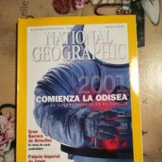 Coleccionismo de National Geographic: NATIONAL GEOGRAPHIC - 2001 COMIENZA LA ODISEA. EL CUERPO HUMANO EN EL ESPACIO - ENERO 2001. Lote 121602883