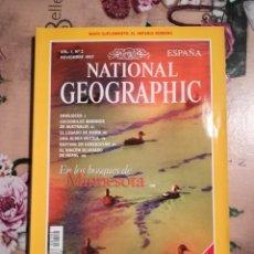 Coleccionismo de National Geographic: NATIONAL GEOGRAPHIC VOL. 1, Nº 2 - EN LOS BOSQUES DE MINNESOTA - NOVIEMBRE 1997. Lote 121604527