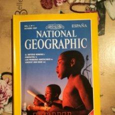 Coleccionismo de National Geographic: NATIONAL GEOGRAPHIC VOL. 1, Nº 1 - ZAMBEZE - OCTUBRE 1997. Lote 121604691