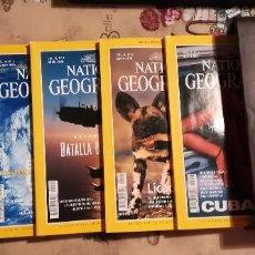 Coleccionismo de National Geographic: NATIONAL GEOGRAPHIC ENERO-JUNIO 1999 PRESENTADOS EN ESTUCHE SÍMIL DE PIEL. Lote 121605011