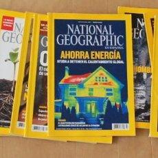 Coleccionismo de National Geographic: LOTE 11 REVISTA NATIONAL GEOGRAPHIC AÑOS 2008 Y 2009. Lote 122034851