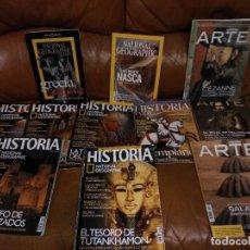 Coleccionismo de National Geographic: LOTE DE REVISTAS. Lote 123135287
