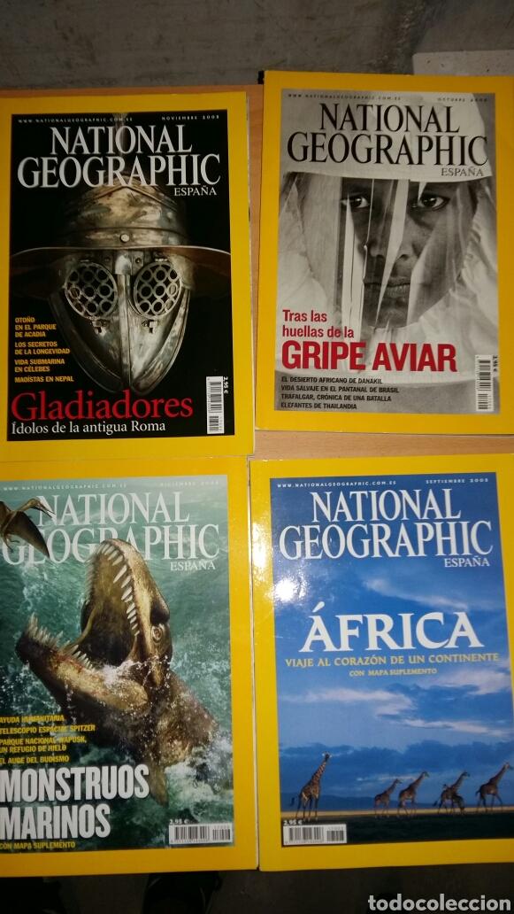 LOTE 12 REVISTAS NATIONAL GEOGRAPHIC. AÑO 2005. (Coleccionismo - Revistas y Periódicos Modernos (a partir de 1.940) - Revista National Geographic)