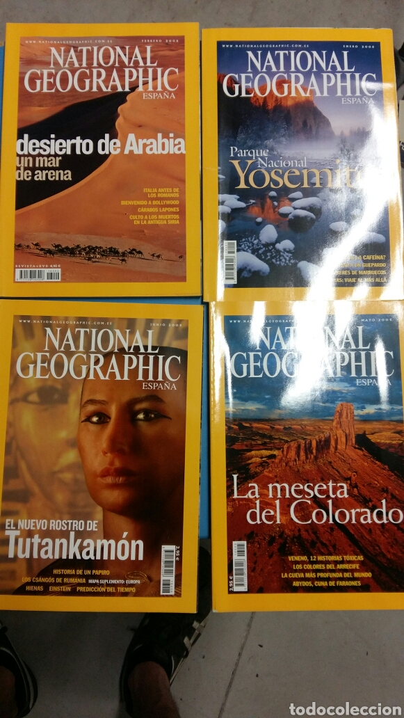 Coleccionismo de National Geographic: Lote 12 revistas national geographic. Año 2005. - Foto 2 - 127656810