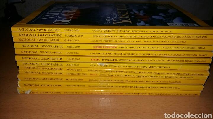 Coleccionismo de National Geographic: Lote 12 revistas national geographic. Año 2005. - Foto 5 - 127656810