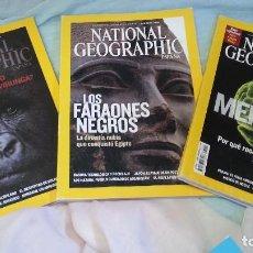 Coleccionismo de National Geographic: REVISTAS NATIONAL GEOGRAPHIC. 3 EJEMPLARES AÑOS 2008. BUEN ESTADO GENERAL.. Lote 128181111
