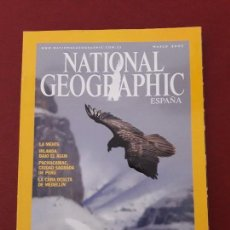 Coleccionismo de National Geographic: NATIONAL GEOGRAPHIC.MARZO 2005.. Lote 128538163