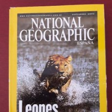 Coleccionismo de National Geographic: NATIONAL GEOGRAPHIC. SEPTIEMBRE 2006.. Lote 128538471