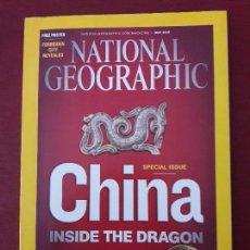 Coleccionismo de National Geographic: NATIONAL GEOGRAPHIC. MAYO 2008. EDICIÓN ORIGINAL EN INGLÉS.. Lote 128538935