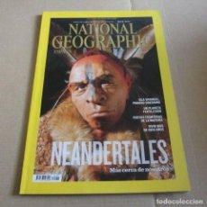 Coleccionismo de National Geographic: REVISTA NATIONAL GEOGRAPHIC ESPAÑA MAYO 2013, NEANDERTALES. Lote 128705199